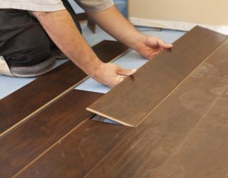Fitting Laminate Floor