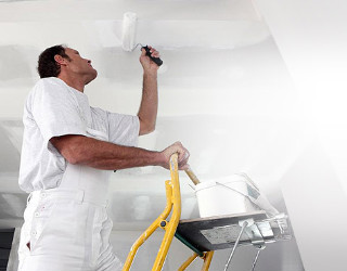 Painting a room white